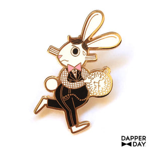 The White Rabbit Pin