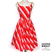 Load image into Gallery viewer, Sandra Dress in Candy Stripe Print