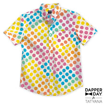 Load image into Gallery viewer, Harvey Shirt in Dot Candy Print