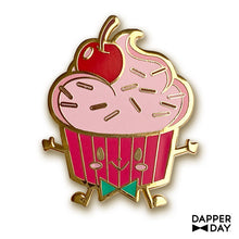 Load image into Gallery viewer, Yummerz Cherry Cupcake Pin