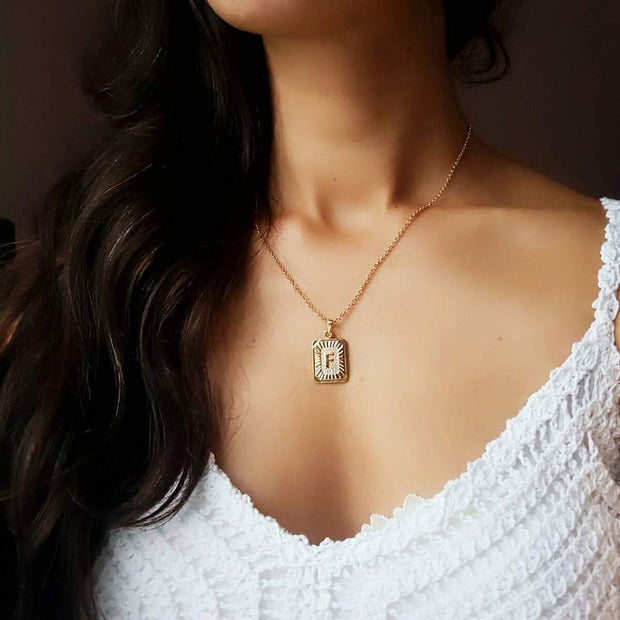 Desire Initial Necklace