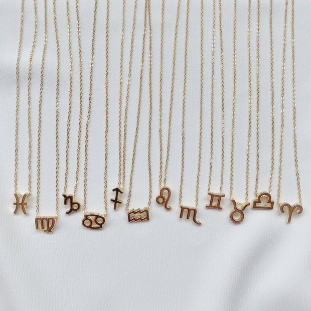 Symbol Zodiac Necklace