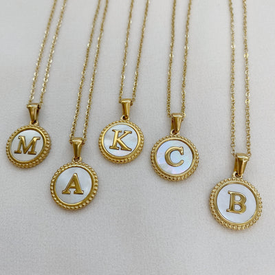 Rise Initial Necklace