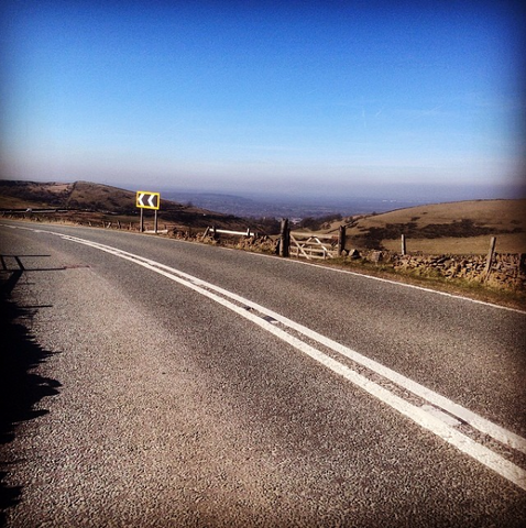 Top of the climb (Cat and Fiddle)