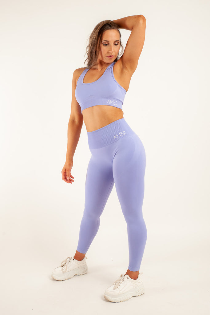 Essentials Crop Lilac
