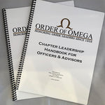 Order of Omega chapter leadership handbook