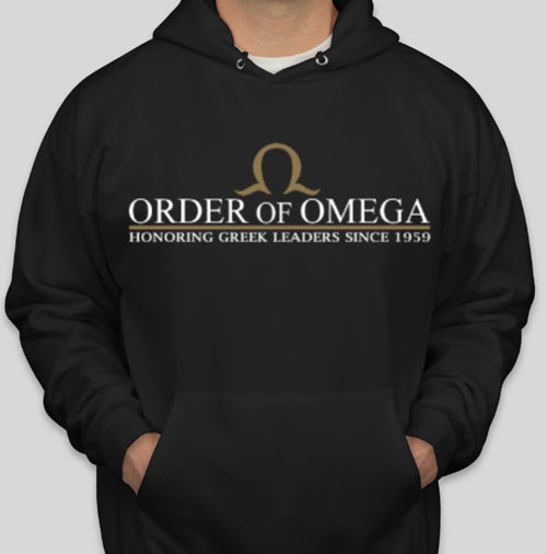 Order of Omega hoodie front