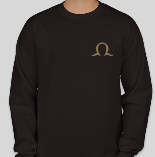 Order of Omega long-sleeve T-shirt front