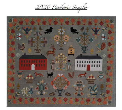 PACK 2020 PANDEMIC SAMPLER by Christie Steffensen (@sarcygurl) ON 40CT, 1 OVER 2