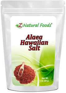 Alaea Hawaiian Salt - Fine Seasonings & Spices Z Natural Foods