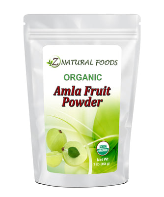 Amla (Amalaki) Fruit Powder - Organic Fruit Powders Z Natural Foods