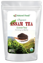 Assam Tea - Organic Organic Tea Z Natural Foods