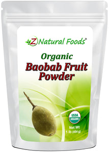 Baobab Fruit Powder - Organic Fruit Powders Z Natural Foods