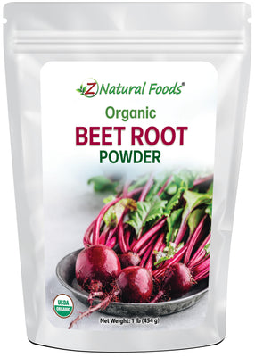 Beet Root Powder - Organic Vegetable, Leaf & Grass Powders Z Natural Foods