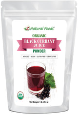 Black Currant Juice Powder - Organic Fruit Powders Z Natural Foods