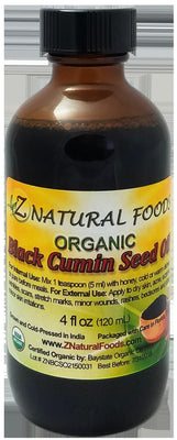 Black Seed Oil - Organic Organic Oils Z Natural Foods