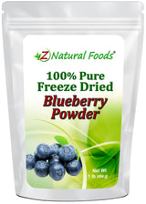Blueberry Powder - Freeze Dried Fruit Powders Z Natural Foods