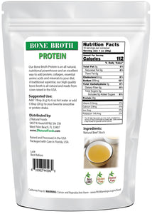 Bone Broth Powder (Bovine) Proteins & Collagens Z Natural Foods
