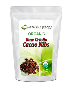 Cacao Nibs - Organic Cacao Z Natural Foods