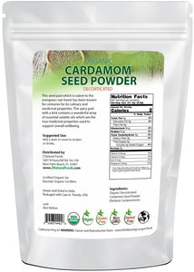 Cardamom Seed Powder - Organic Seasonings & Spices Z Natural Foods