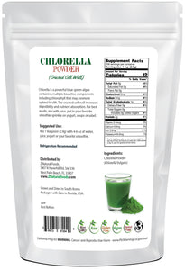Chlorella Powder (Cracked Cell Wall) Algae & Seaweeds Z Natural Foods