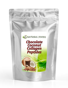 Chocolate Coconut Collagen Peptides Protein Powders Z Natural Foods