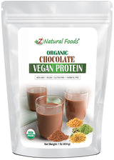 Chocolate Vegan Protein - Organic Cacao Z Natural Foods