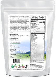 Chocolate Whey Protein Concentrate - Organic Proteins & Collagens Z Natural Foods
