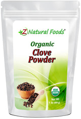 Clove Powder - Organic Herb & Root Powders Z Natural Foods