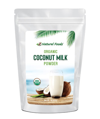 Coconut Milk Powder - Organic Fruit Powders Z Natural Foods 1 lb