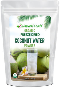 Coconut Water Powder - Organic Freeze Dried Fruit Powders Z Natural Foods