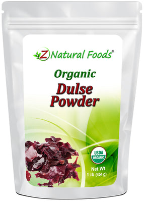 Dulse Powder - Organic Algae & Seaweeds Z Natural Foods