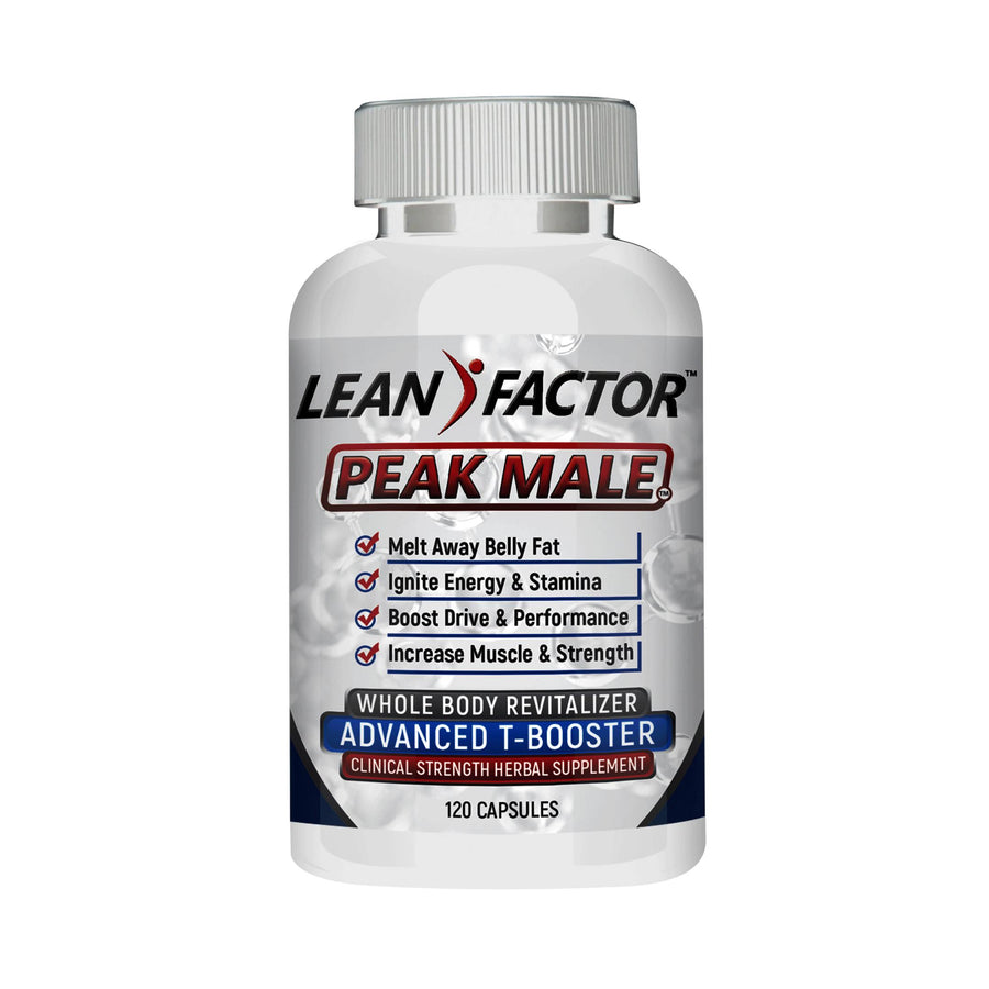 FREE Peak Male - White Bottle Health Concerns Lean Factor