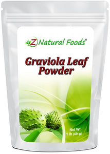 Graviola Leaf Powder Vegetable, Leaf & Grass Powders Z Natural Foods