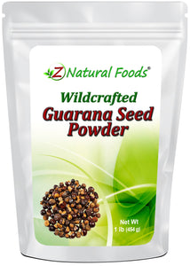 Guarana Seed Powder Herb & Root Powders Z Natural Foods