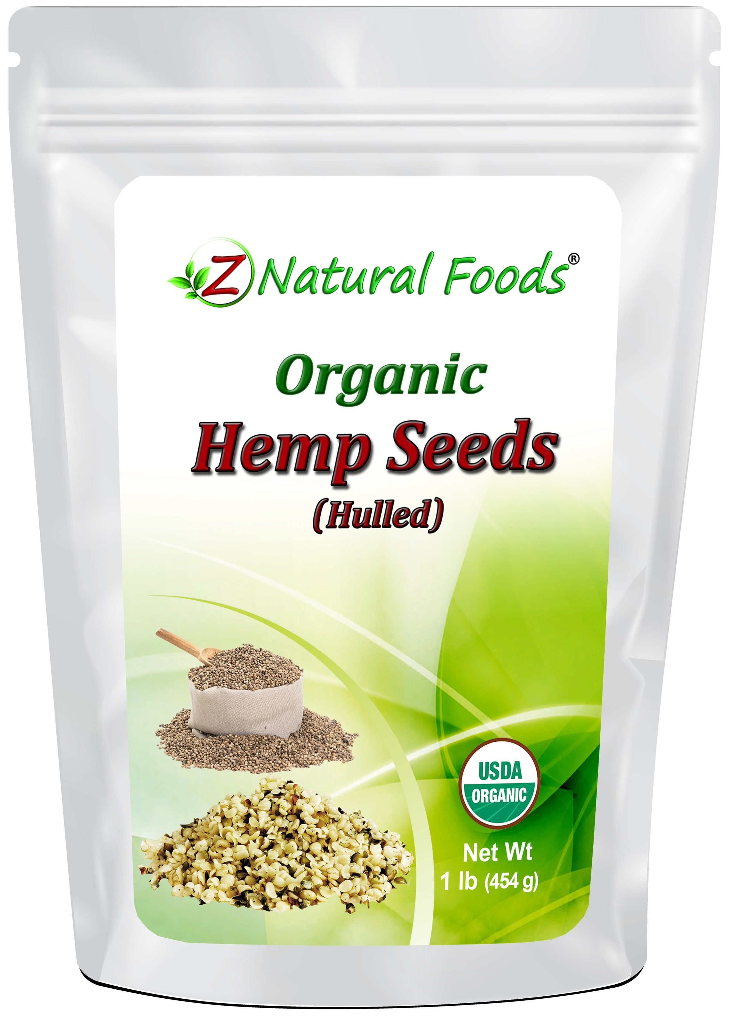 Hemp Seeds - Raw, Organic, Shelled