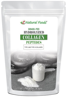 Hydrolyzed Collagen Peptides Proteins & Collagens Z Natural Foods