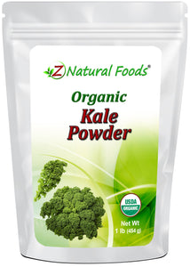 Kale Powder - Organic Vegetable, Leaf & Grass Powders Z Natural Foods