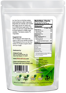 Luo Han Guo 7% - Extract Powder Sweeteners Z Natural Foods
