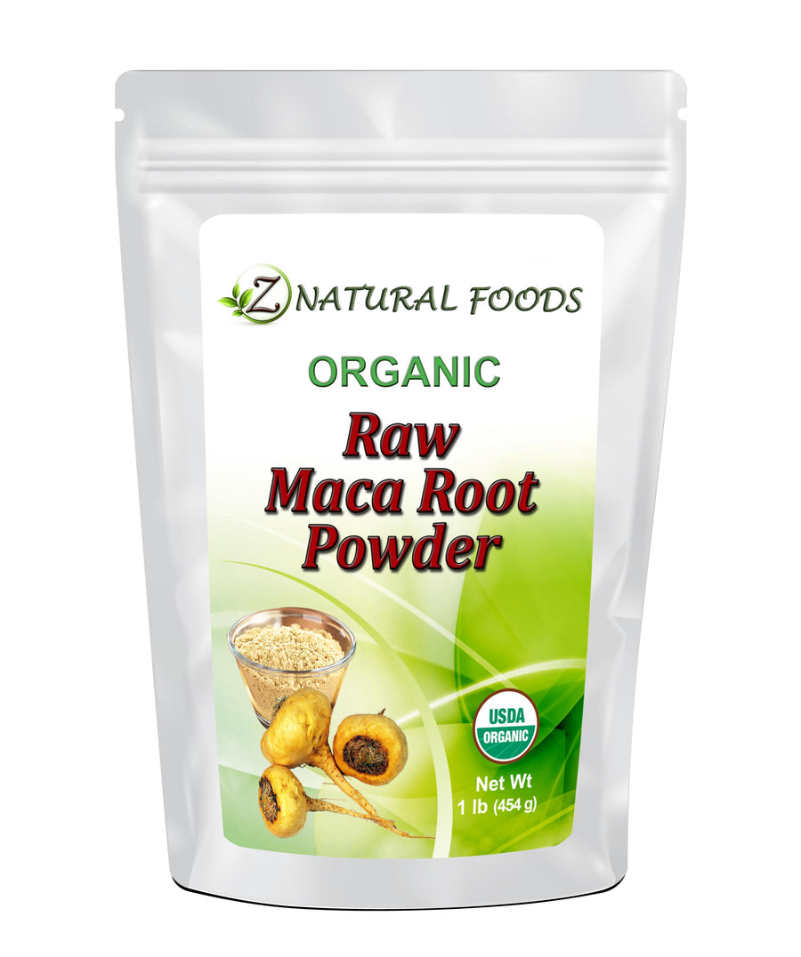 Maca Root Powder - Organic Raw Herb & Root Powders Z Natural Foods