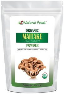 Maitake Mushroom Powder - Organic Herb & Root Powders Z Natural Foods