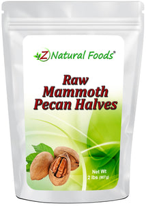 Mammoth Pecan Halves - Raw Nuts & Seeds Z Natural Foods