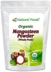 Mangosteen Fruit Powder - Organic Fruit Powders Z Natural Foods