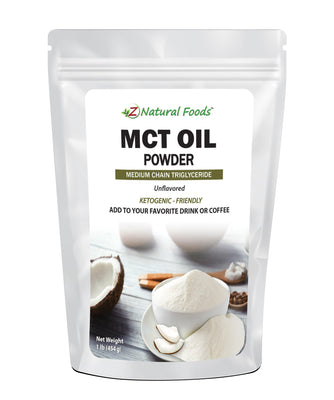 MCT Oil Powder Organic Oils Z Natural Foods