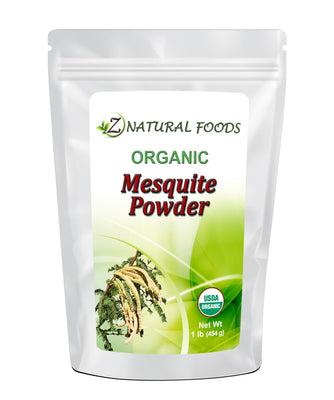 Mesquite Powder (Flour) - Organic Raw Cacao Z Natural Foods
