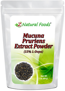 Mucuna Pruriens Extract Powder Herb & Root Powders Z Natural Foods