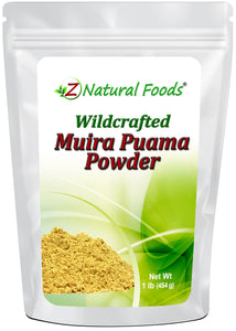 Muira Puama Root Powder Herb & Root Powders Z Natural Foods