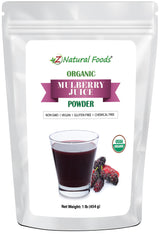 Mulberry Juice Powder - Organic Fruit Powders Z Natural Foods