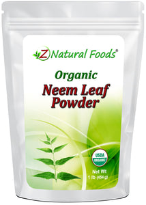 Neem Leaf Powder - Organic Vegetable, Leaf & Grass Powders Z Natural Foods