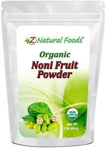 Noni Fruit Powder - Organic Fruit Powders Z Natural Foods